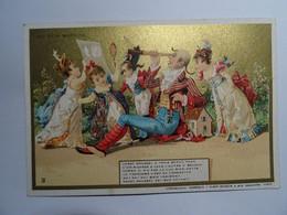 CHROMO -  IMAGE  AU BON MARCHE PARIS CADET ROUSSEL TBE - Au Bon Marché