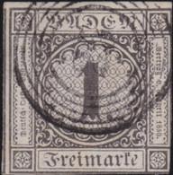 Baden    .   Michel  5         .    O   .     Gebraucht - Baden