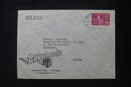FINLANDE - Enveloppe Commerciale De Helsinki Pour Toulouse En 1947 Par Avion - L 88815 - Cartas