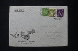 FINLANDE - Enveloppe Commerciale De Helsinki Pour Toulouse En 1947 Par Avion - L 88816 - Cartas