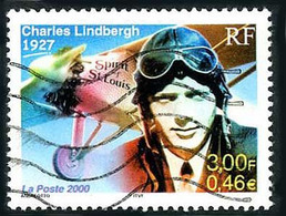 France Frankreich Francia 2000 RYAN NYP Spirit Of Saint-Louis Charles Lindbergh ( YT 3316 Mi 3453 ) - Aerei