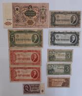 LOT DE 10 BILLETS RUSSE 1919-1961 - Zonder Classificatie