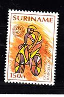 Suriname 1992 Mi Nr  1411, Sport, Olympische Spelen Barcelona: Wielrennen Bike - Surinam