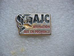Pin's De L'AJC D'Aix En Provence. Animation Photo - Photography