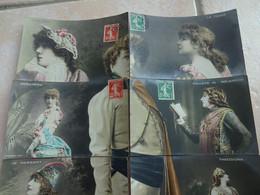 Puzzle Complet 10 CPA Artiste Sarah BERNHARDT Dans Ses Différents Rôles Au Théâtre Dont L'aiglon Napoléon - Artisti