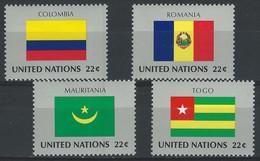 EEE-/-788-  SERIE COMPLETE De 1986, MAURITANIE, COLOMBIE, ROUMANIE, TOGO - N° 479/82,  * * , COTE 7.60 € , - Ongebruikt