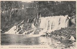 39 Environs De Champagnole Les Cascades De Syam - Otros Municipios