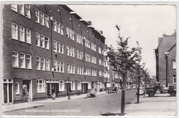 Amsterdam De Kempenaerstraat Oude Auto's Levendig   2597 - Amsterdam
