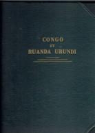 BA-Album Congo Belge Philac 1886-1960-Voir Description-zie Beschrijving -see Description - MH-Oblitérés - Collezioni