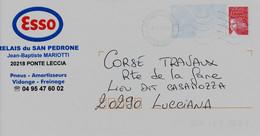 20 Ponte Leccia/Haute Corse-02/7/2010--flamme Sécap Double Cercle - Annullamenti Meccanici (pubblicitari)