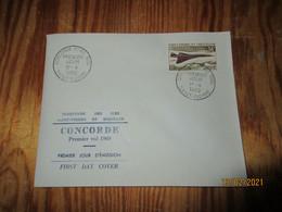Enveloppe 1er Jour Saint-Pierre Et Miquelon Concorde 1er Vol 1969 - FDC