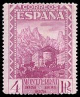 ** 647Na. 4 Ptas. Numeración Ceros. Centrajes Aceptable. - 1931-50 Nuevos & Fijasellos