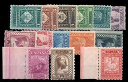 ** 636/49. Montserrat. Centrajes Habituales. Cat. 2000 €. - 1931-50 Ungebraucht