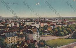 CARTOLINA  LINZ,AUSTRIA DONAU,VIAGGIATA 1948 - Unclassified