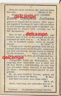 Doodsprentje Zuster Dymphna Jochems Chaam 1858 Begijntje In Het Begijnhof Te Turnhout En Overleden 1918 - Devotieprenten