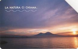 *ITALIA - LA NATURA CI CHIAMA: GOLFO DI NAPOLI* - Scheda Usata - Openbaar Getekend