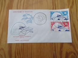 Enveloppe 1er Jour Saint-Pierre Et Miquelon Centenaire De L'union Postale Universelle 1974 - FDC