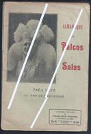 Publicação 'Almanaque Dos Palcos E Salas' Para 1925 Da Livraria Popular, Lisboa. De 98 Páginas. - Theatre