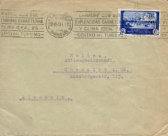 MARRUECOS. Ø 141 En Carta De Larache A Alemania, El 30/5/1934. - Spanisch-Marokko