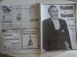 Numéro Spécial  Président Madame Monsieur Fallières Loubet 1906 Loupillon Nérac - 1900 - 1949