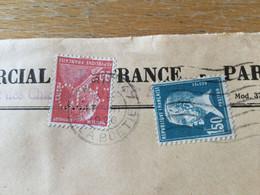 K16 France PERFIN 1928 Lettre De Paris Pour Solothurn Suisse - Storia Postale