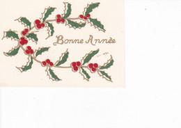 MIGNONNETTE BONNE ANNEE ,HOUX,CARTE A RELIEF REF 69866 - Nieuwjaar