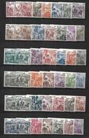 Grande Série Coloniale Complète  Tchad Au Rhin Poste Aérienne 90 Valeurs N** MNH - Collections