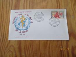 Enveloppe 1er Jour Saint-Pierre Et Miquelon Anniversaire O.M.S Année 1968 - FDC