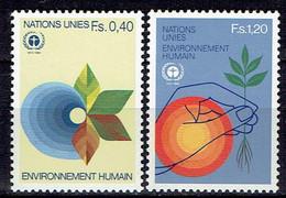 UN Genf - Mi-Nr 105/106 Postfrisch / MNH ** (C900a) - Nuevos