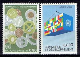 UN Genf - Mi-Nr 115/116 Postfrisch / MNH ** (C995) - Nuevos