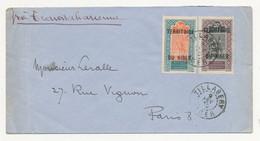 NIGER Lettre De TILLABERY Du 9 Février 1935 VOIE TRANSAHARIENNE  Pour PARIS - Lettres & Documents