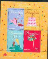 Portugal ** & Parabéns ** (Afinsa 243) - Blocks & Sheetlets