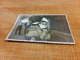 FOTO CON VESPA ANTICA ANNI 50- MISURE 10 X 7 CENTIMETRI - Cars