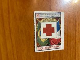 Vignette - Rio De Janeiro - Croix Rouge / Militaire - Croix Rouge