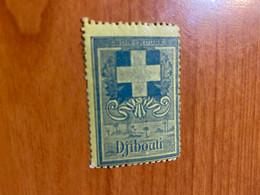 Vignette - Djibouti - Croix Rouge /militaire - Croix Rouge