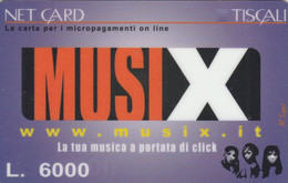PREPAID PHONE CARD TISCALI ITALIA (PV567 - [2] Tarjetas Móviles, Prepagadas & Recargos