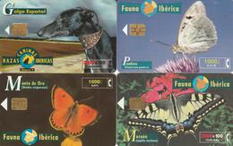 LOT 4 PHONE CARD SPAGNA (PV589 - Otros