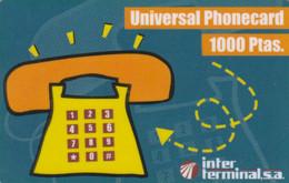 PREPAID PHONE CARD SPAGNA (PV748 - Otros