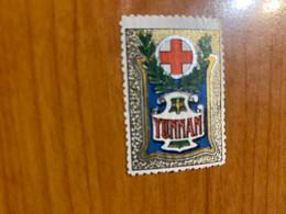 Vignette - Yunnan - Croix Rouge / Militaire - Croix Rouge