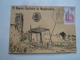 Carte Postale : Pont Levis De Wambrechies / Dequeker / 24h Cyclistes De Wambrechies - Otros Municipios