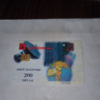 Albania-insig-(200impulse)-(23)-(2001791639)-tirage-90.000-Cut Near The Number Below+1card Prepiad Free - Albanie