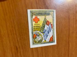 Vignette - Johannesburg - Croix Rouge / Militaire - Rode Kruis