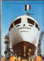 El1.8- Bull. Techn. N°8 Chantiers De L'Atlantique Penhoët St Nazaire France Paquebot Renaissance Paquet CNP - Ohne Zuordnung