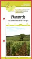 89 Yonne  AUXERROIS Sur Les Hauteurs De Courgis  Bourgogne Fiche Dépliante Randonnées  Balades - Geografía