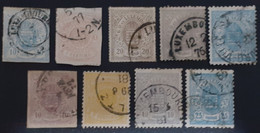 Luxembourg 1859-1880 Stamps - 1859-1880 Coat Of Arms