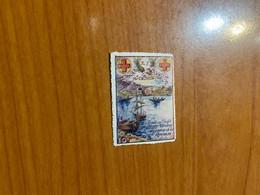Vignette - Saint Denis De La Réunion - Croix Rouge / Militaire - Croix Rouge