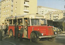 Autobus, Saurer; Wiener Stadtwerke; Engerthstrasse, Wien; Belebt - Unclassified