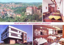 CZECHOSLOVAKIA : COLOUR PICTURE POST CARD : COMMERCIALLY USED : CESKOMORAVSKA VRCHOVINA, VELKE MEZIRICI - Cartas