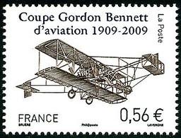 France Frankreich Francia 2009 Coupe Gordon-Bennett 1909 Curtiss-Herring Gold Bug  ( YT 4376 Mi 4709 ) - Aerei