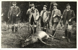 Austria, Emperor Franz Joseph I With Hunting Trophy (1959) Heinrich Schumann RP - Familles Royales